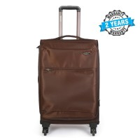 PRESIDENT 22 inch Hard Case Travel Luggage On 4-Wheels Suitcase COFFEE PBL743