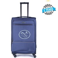 PRESIDENT 26 inch Hard Case Travel Luggage On 4-Wheels Suitcase NAVY BLUE PBL745