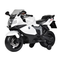 Kids Ride On Electric Motor Bike BMW White EMB03