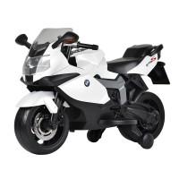 Kids Ride On Electric Motor Bike BMW White EMB03