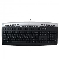 A4TECH Keyboard Bangla English PS2 Black