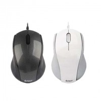 A4TECH N-100 Carbon Shape Laptop Mouse