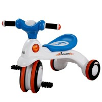 ACI Premio Captain Bike With Music for Kids - White and Blue