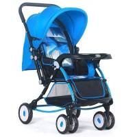 BAOBAOHAO 720W Premium Rocking Baby Stroller BBH101 : Blue