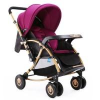BAOBAOHAO C3 Two Way Baby Stroller Cum Rocker BBH115 - Purple