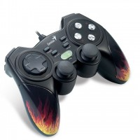 Genius Blaze 3 Gamepad, Turbo Function, 12 Button, for  PC/PS3