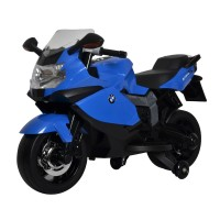 Kids Ride On Electric Motor Bike BMW Blue EMB02