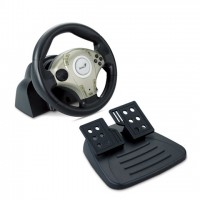 Genius Twin Wheel F1 for PC/PS/PS2 support
