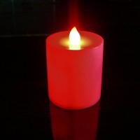 Pillar Candles Red