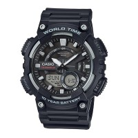 Gents Watches With Tele Memo By Casio AEQ 110W 1AV