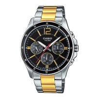 Casio Watches With Gold Color Addition For Men MTP 1374SG 1AVDF