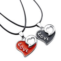 Heart Shape Couple Locket HCL243