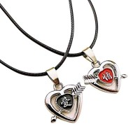 Trendy Heart Shape Couple Locket for Love Bird HCL220