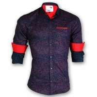 DEVIL Pure Cotton Casual Printed Shirt DE115