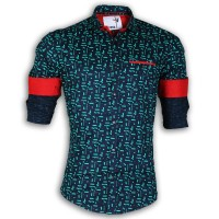 DEVIL Pure Cotton Casual Brick Printed DE119