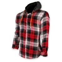 Devil Light Flannel Hooded Shirt DE722