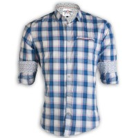 PRODHAN Pure Cotton Casual Check Shirt PC248