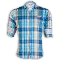 PRODHAN Pure Cotton Casual Check Shirt PC247