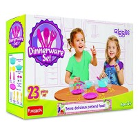 Funskool Giggles Dinnerware Set Multi Color