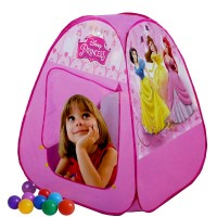 Disney Princess Play Tent House With 50 Soft Flex Balls DPT471