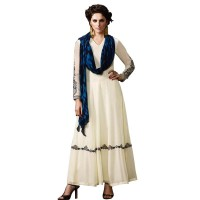 Exclusive Eid Special Party Wear Designer Simple Anarkali Suit WF075