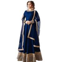 Exclusive Eid Special Madhubala Royal Blue Anarkali Suits WF001