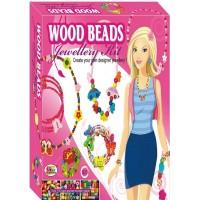Ekta Wood Beads Jewellery Kit Junior