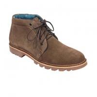 Sky Sea Chocolate Full Leather Casual Boot