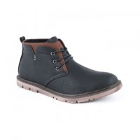 Lace Ups Leather Casual Boot FFS408