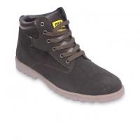 Dark Chocolate Leather Casual Boot FFS411