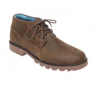 Light Coffee Full Leather Casual Boot FFS417