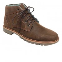 Chocolate Full Leather Casual Boot FFS420