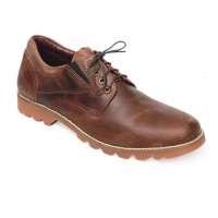 Chocolate Full Leather Casual Boot FFS424