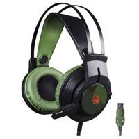 A4TECH J437  Glare  Army Green Gaming Headphone