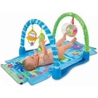 Fisher Price Ocean Paradise Kick & Crawl Baby Playmat Arch Gym MCH015