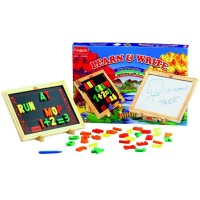 Funskool Learn & Write 2 in 1 Magnetic & Writing Board Multi Color MCH068