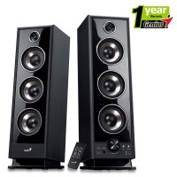 Genius HF-2020 Hi-Fi 2.0 4 Way 60W  Two Tower Speaker System