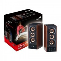 Genius HF-800A Hi-Fi 2.0 3 Way 20W RMS Wood Speaker
