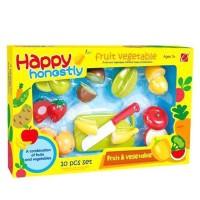 Happy Honestly Fruit & Vegetable Play Set