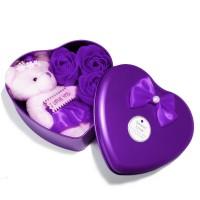Valentine Special Heart Box - Violet