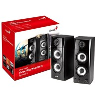 Genius SP-HF1800A 50W RMS W 2.0 Three-Way Hi-Fi Speakers