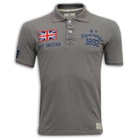 Abercrombie & Fitch Polo Shirt SB07P Dust