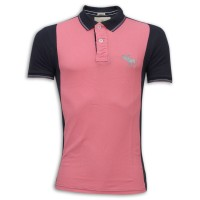 Abercrombie & Fitch Polo Shirt MH23P Navy Black & Pink