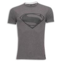 Super Man Round Neck T - Shirt SB10 Grey