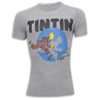 TinTin Ronud Neck T-Shirt SB12 Ash