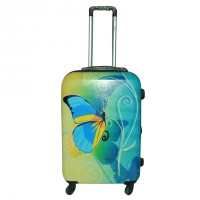 Echolac Soft Trolley Case Blended With Attractive Solid Color