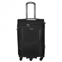 Fashion Durable Leaves King Trolley Travel Bag