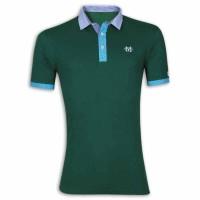 Stylish Polo Shirt YG09P Sea Green