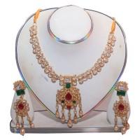 Exclusive EiD Necklece set Collection RA024A. MODEL Necklace Set.