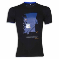 Moon Light Round Neck T – Shirt YG38 Black